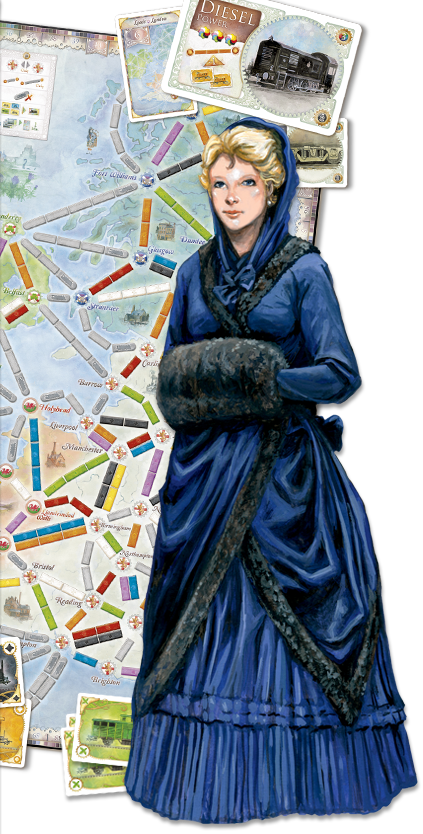Ticket to Ride Unit