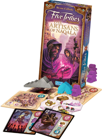 The Artisans of Naqala: Five Tribes Expansion (T.O.S.) -  Days of Wonder