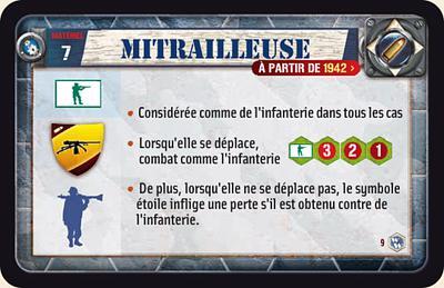 Mitrailleuse (à partir de 1942)