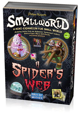 Small World: A Spiders Web   (T.O.S.) -  Days of Wonder