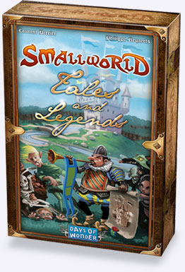 Days of Wonder Inc: Small World: Tales and Legends (T.O.S.)
