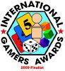 Finaliste des International Gamers Award 2009