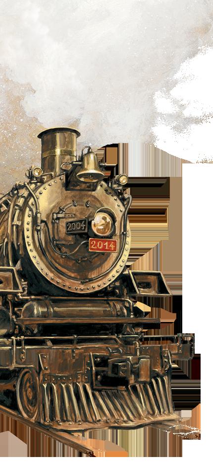 Zug um Zug - zehnj�hriges Jubil�um
