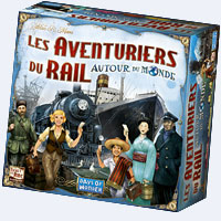 Aventuriers du Rail– Autour du monde