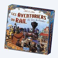 Jeu de Cartes Aventuriers du Rail