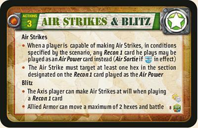 Air Strikes & Blitz