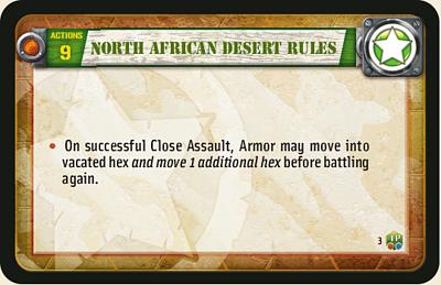 North African Desert Rules