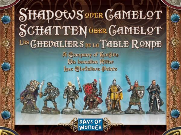 Les chevaliers peints les chevaliers de la table ronde - Les chevaliers de la table ronde days of wonder ...