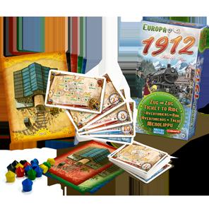 Spielschachtel von Europa 1912