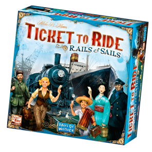 Image result for ticket to ride rails and sails