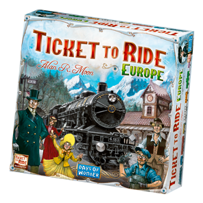 Ticket to Ride Europe Game Box