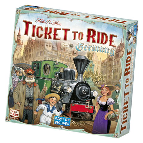 Ticket to Ride Germany -  Days of Wonder