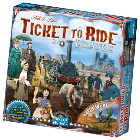 Ticket To Ride France and Old West: Map Collection -  Days of Wonder