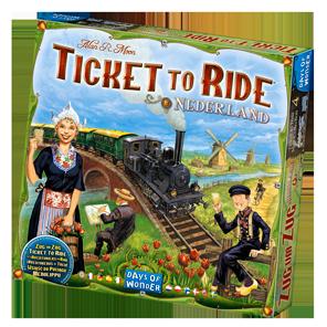 Ticket to Ride Nederland Game Box